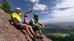 Inspiring America: Adaptive Climbers Help Each Other Reach New Heights