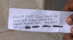 Man Stuck In ATM  Rescued After Slipping 'Help Me' Notes to Customers