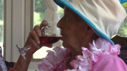 Woman Celebrates 100th Birthday Says, Wine is Secret to Longevity