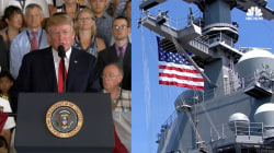 Trump Commissions USS Gerald R. Ford Warship at Patriotic Ceremony