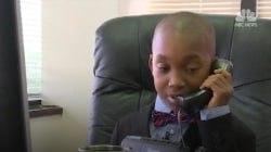 Nine-Year-Old Becomes CEO For a Day