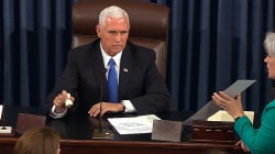 Watch Pence Break Tie on Procedural Health Care Vote