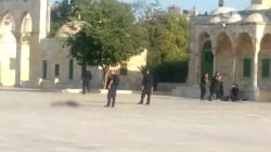 Eyewitness Video Shows Attack on Police in Jerusalem