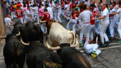 Six Injured During Pamplona's Sixth Bull Run