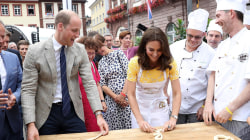 Princess Kate Shows Prince William the Right Way to Tie a Pretzel