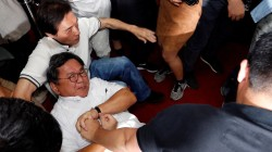 Taiwan Lawmakers Brawl as Budget Meeting Gets Out of Hand