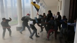 Bloody Scenes as Pipe-Wielding Assailants Attack Venezuelan Lawmakers