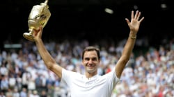Roger Federer talks about Wimbledon win with super fan Savannah Guthrie
