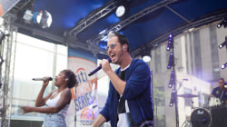 Fitz and the Tantrums perform 'Fool' live on the TODAY plaza