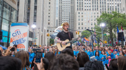 Ed Sheeran sings No. 1 hit 'Shape of You' live on the TODAY plaza