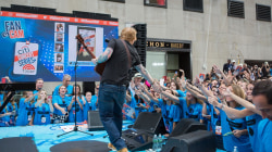 See Ed Sheeran sing 'Supermarket Flowers' live on the TODAY plaza