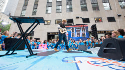 Watch Ed Sheeran sing 'Thinking Out Loud' live on the TODAY show