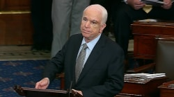 John McCain makes dramatic return to Senate floor with powerful speech