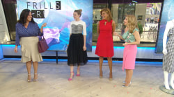 Ruffles are the hot summer trend: Learn how (and where) to wear them