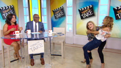 Can Jenna Bush Hager lift Giada De Laurentiis? Watch and see!