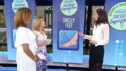 Twitchy eyes? Smelly feet? What your weird symptoms really mean