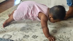 Watch Hoda's baby Haley Joy do a plank pose: 'Is that freaky??'