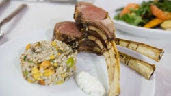 Lamb chops with warm buckwheat salad: Make them with fresh ingredients
