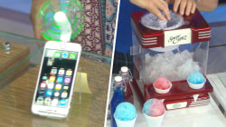 Phone fan, snow cone maker and other gadgets to help you keep your cool