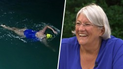 Meet the grandmother who became oldest woman to swim the English Channel