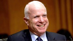 Ailing John McCain returns to Capitol Hill for crucial health care vote