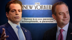 Anthony Scaramucci rails against Priebus, Bannon in profanity-laced tirade