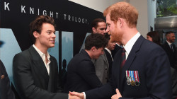 When (Prince) Harry met Harry (Styles): Photo has people talking