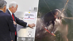 Highs and Lows: Mike Pence's touchy behavior with NASA, kiteboarder gets lift from whale