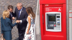 Highs and Lows: Trump's handshake with Macron, man gets stuck in ATM