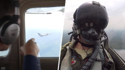 What happens when a plane violates presidential airspace? Watch!