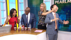 Watch mentalist Oz Pearlman appear to read the TODAY anchors' minds