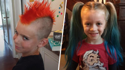 Is it OK to let kids dye their hair? Survey respondents say yes