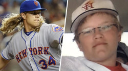 Major League pitcher Noah Syndergaard, aka Thor, opens up about awkward teen years