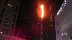 Large Fire Breaks Out At Dubai's 'Torch Tower'