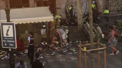Van Crash In Barcelona, 'Multiple' People Injured