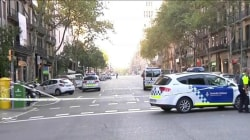 Barcelona Police: Van Crash Is Terrorist Attack