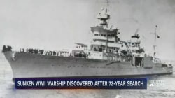 Wreckage of Famous WWII-Era Ship Discovered After 72 Year Search