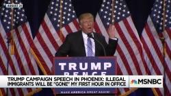 Trump set to reprise harrowing Phoenix speech