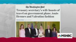 Mnuchin's wife boasts about wealth