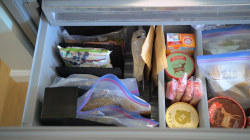 Why office supplies will help you organize the freezer