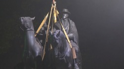 Watch Confederate Statues Come Down in Baltimore