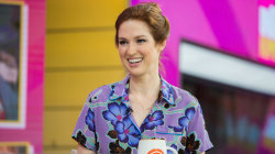 Ellie Kemper shares the secret to her upbeat attitude