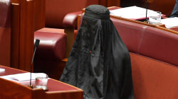 Australian Senator Caused Outrage When She Wore Burqa in Bid to Ban Them