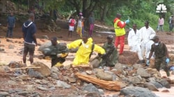 Deadly Mudslides Kill at least 300 in Sierra Leone