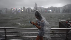 Typhoon Hato Slams Hong Kong With 95 MPH Winds