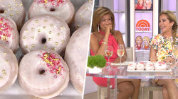 'Oops!' Watch what happens when Hoda Kotb tries Prosecco doughnuts