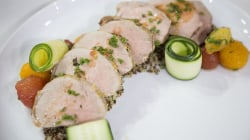Make delicious (and healthy) pork tenderloin with quinoa salad, cherry tomatoes