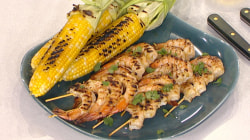 See Al Roker makes smoky shrimp and sweet corn 2 different ways