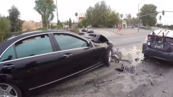 Motorcyclist tracks down hit-and-run driver while wearing a GoPro