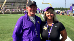 Schoolteacher's surprise: She gets to coach Minnesota Vikings for a day